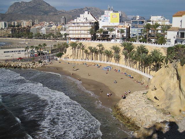 Playa Mal Pas, Benidorm