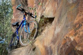 Mountain bike photo